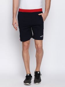Fitz Navy Blue Shorts For Mens (code - S18so4013nv)
