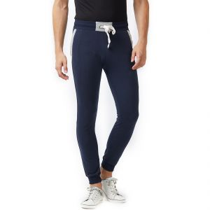 Fitz Navy Blue Slim-fit Jogger For Mens (code - S18tc3008nv)