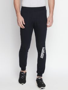 Fitz Navy Blue Slim-fit Jogger For Mens (code - S18tc3063nv)
