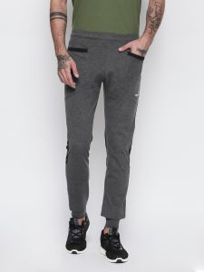 Fitz Charcoal Slim-fit Jogger For Mens (code - S18tc3064antml)