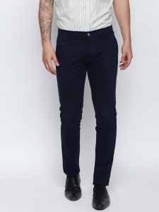Solemio Navy Blue Trouser For Mens (code - S18tr3025env)