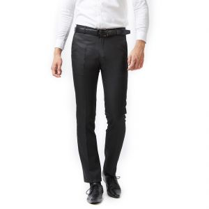 Solemio Black Trouser For Mens (code -s18tr3039ebl)