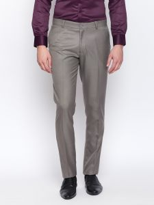 Solemio Grey Trouser For Mens (code - S18tr3041ejbk)