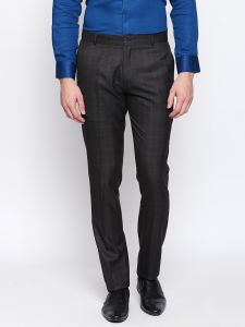 Solemio Black Trouser For Mens (code - S18tr3042edkbr)
