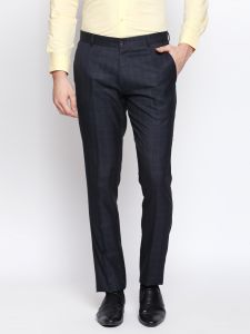 Solemio Blue Trouser For Mens (code - S18tr3042env)