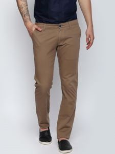 Solemio Brown Trouser For Mens (code - S18tr3046ekh)