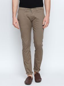 Men's Wear - Solemio Brown Chino For Mens (Code - S18TR3047EBE)