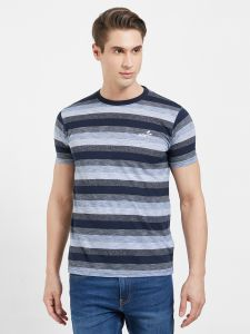 Fitz Poly Cotton Round Neck T-shirt For Mens (code - S19ts7002env)