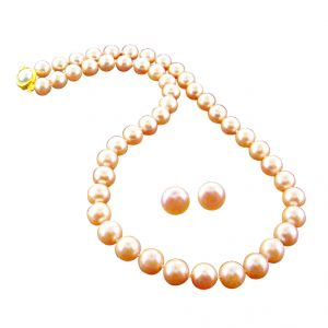 Pearl Necklaces - jpearls diya pearl necklace