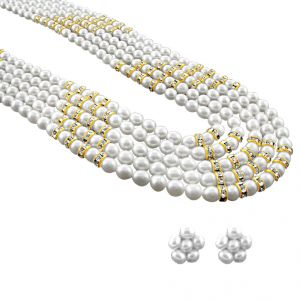 Jagdamba Pearl Necklaces - jpearls seno pearl necklace