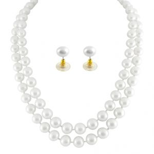 Pearl Necklaces - jpearls cozy pearl necklace