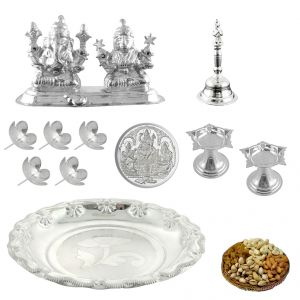 Coins - Sri Jagdamba Pearls Instant Diwali Special Silver Hamper(Code DH-17-018)