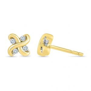 Sri Jagdamba Pearls Fawning Diamond Earrings Code Ef021571
