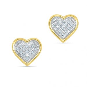 Sri Jagdamba Pearls Love Crush Diamond Earrings-eh020917