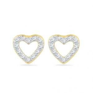 Sri Jagdamba Pearls Love Crush Diamond Earrings-eh029026