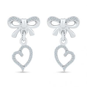 Sri Jagdamba Pearls Angel Of My Heart Diamond Earring-eh076994