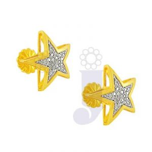 Jpearls Star Diamond Earrings