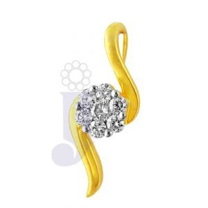 Jpearls Diamond Pendants, Sets - Jpearls glory diamond pendant