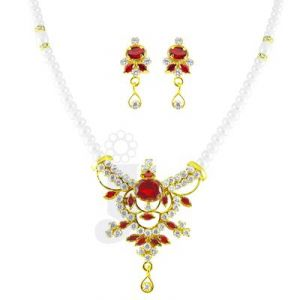 Jpearls Royalty Pearl Pendant Set