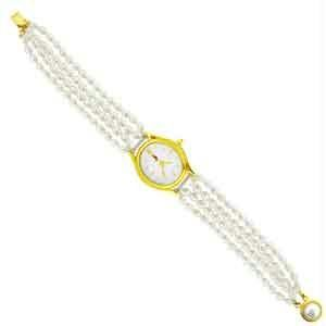 Jpearls Four String Pearl Watch