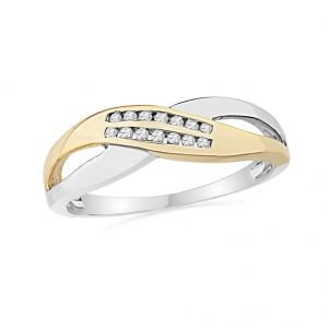 Jpearls Stylish Diamond Finger Ring