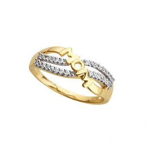 Jpearls Light Of Life Diamond Finger Ring Indian Size- 14