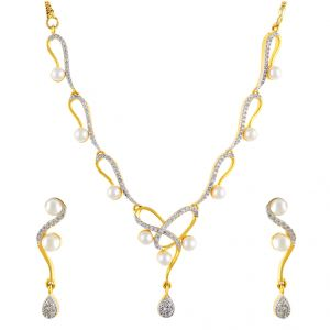 Pearl Jewellery - MAYER NECKLACE SET Code-JPAPL-17-032