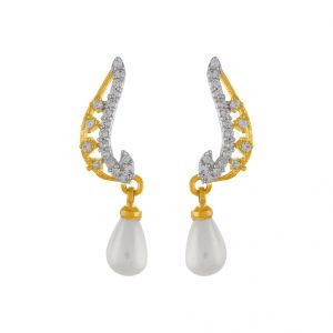 Lovely Drop Pearl Earring Code-jpapl-17-058