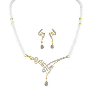 Magnificent Pearl Necklace Set Code-jpapl-17-067
