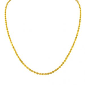 Jpearls Rope Style Gold Chain