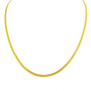 Jpearls Snake Style Gold Chain
