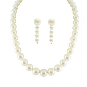 Jpearls Single Line Pearls Set