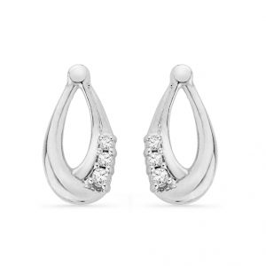 Jpearls Fabulous Diamond Earring