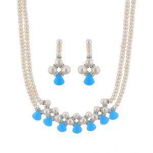 Jpearls Adorable 2 Line Necklace Set