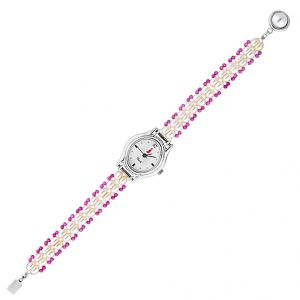 Jagdamba Watches for Women   Round Dial   Analog (Misc) - Jpearls  Angel Pearl Watch