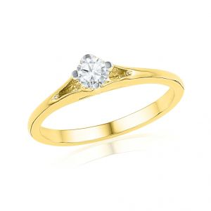 Jpearls Entrancing Diamond Finger Ring