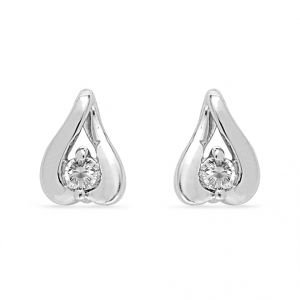 Jagdamba,Clovia Diamond Jewellery - Jpearls Luvina Diamond Earrings