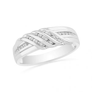 Jpearls Felicity Diamond Finger Ring For Men