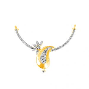 Jagdamba,Clovia,Vipul Women's Clothing - Jpearls Corries Diamond Pendant
