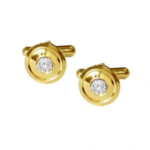 triveni,platinum,jagdamba,flora,avsar Apparels & Accessories - Sri Jagdamba Pearls Ideal Cufflink Set  - jpjan-17-019