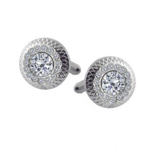 Sri Jagdamba Pearls Stylish Cufflinks Set - Jpjan-17-039