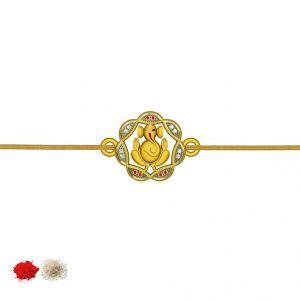 Jagdamba Bangles, Bracelets (Imititation) - GANESH CZ  Code-JPJL-17-123