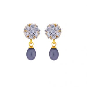 Jagdamba,Clovia,Mahi,Flora,Sangini Pearl Earrings - Sri Jagdamba Pearls Special Drop Earrings(Code-JPJL-17-47)