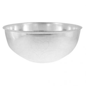 Jpearls Simple Silver Bowl