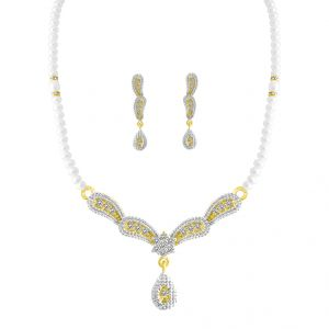 Jpearls Eeshika Fresh Water Pearl Set
