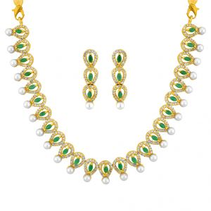 Richa Pearl Necklace Set
