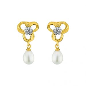 Sri Jagdamba Pearls Sanjitha Pearl Earrings Code Jpjun-16-216