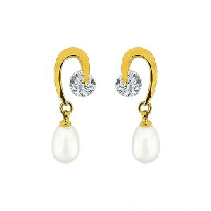 Sri Jagdamba Pearls Fascinating Pearl Earrings Code Jpjun-16-221