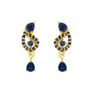 Sri Jagdamba Pearls Theeva Earrings Code Jpjun-16-225