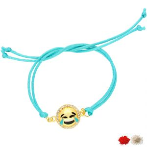 Thread Rakhis (India) - TEAR OF JOY EMOJI RAKHI (JPJUN-18-06 )